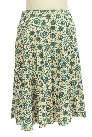 Jocomomola(ホコモモラ)の古着「花柄サーキュラースカート(スカート)」大画像2へ