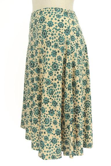 Jocomomola(ホコモモラ)の古着「花柄サーキュラースカート(スカート)」大画像3へ