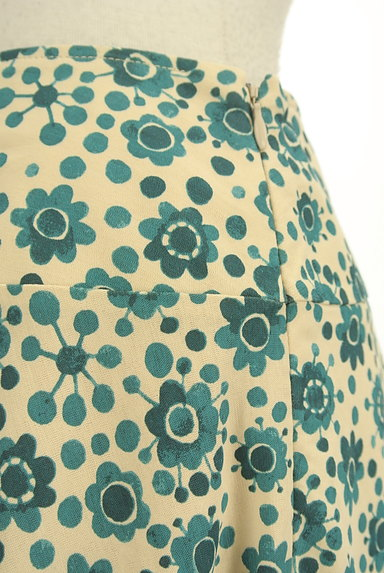 Jocomomola(ホコモモラ)の古着「花柄サーキュラースカート(スカート)」大画像4へ
