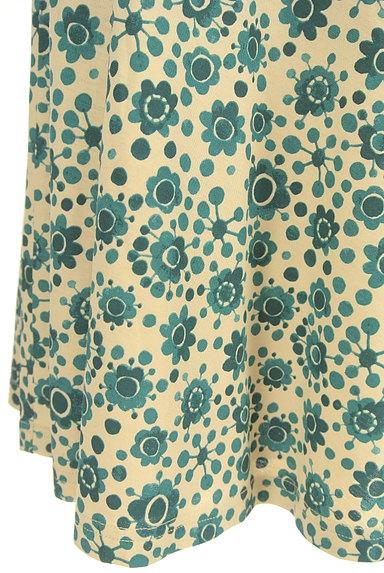 Jocomomola(ホコモモラ)の古着「花柄サーキュラースカート(スカート)」大画像5へ