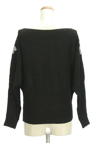axes femme(アクシーズファム)の古着「袖チュール刺繍ドルマンニット(ニット)」大画像2へ