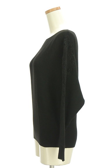 axes femme(アクシーズファム)の古着「袖チュール刺繍ドルマンニット(ニット)」大画像3へ