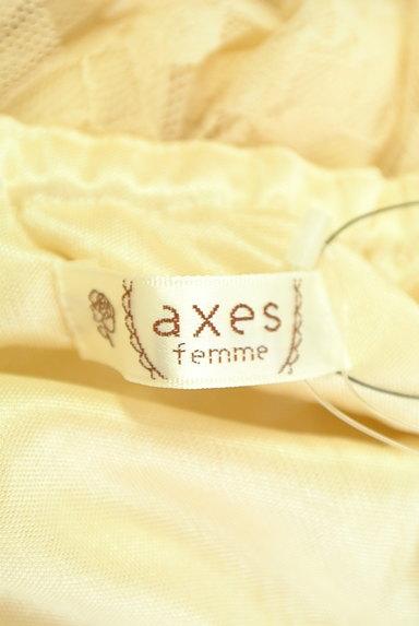 axes femme(アクシーズファム)の古着「ティアードレースキャミワンピ(キャミワンピース)」大画像6へ