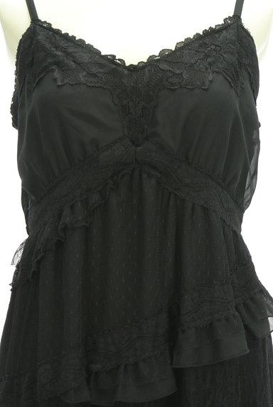 axes femme(アクシーズファム)の古着「ティアード刺繍レースキャミワンピ(キャミワンピース)」大画像4へ