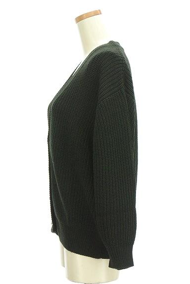 axes femme(アクシーズファム)の古着「ゆったりパフスリーブカーディガン(カーディガン・ボレロ)」大画像3へ