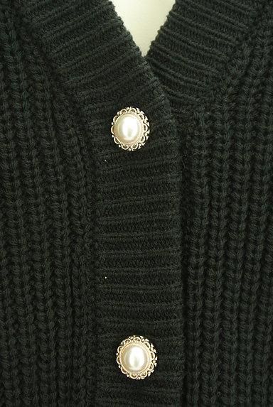 axes femme(アクシーズファム)の古着「ゆったりパフスリーブカーディガン(カーディガン・ボレロ)」大画像4へ