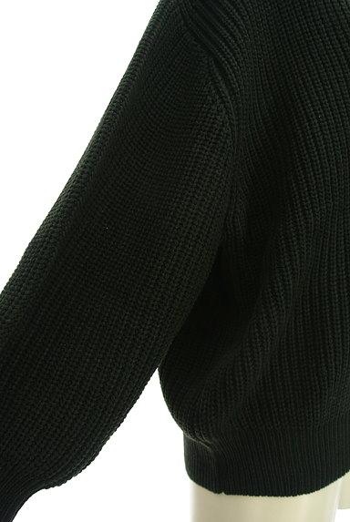 axes femme(アクシーズファム)の古着「ゆったりパフスリーブカーディガン(カーディガン・ボレロ)」大画像5へ