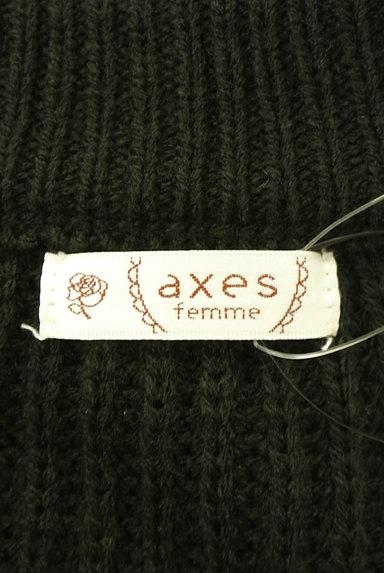 axes femme(アクシーズファム)の古着「ゆったりパフスリーブカーディガン(カーディガン・ボレロ)」大画像6へ