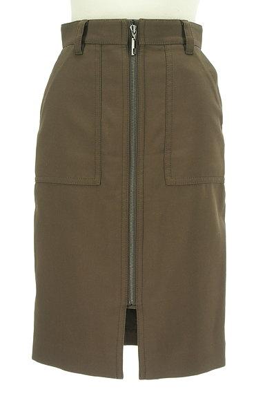 Pinky&Dianne(ピンキー&ダイアン)の古着「膝下丈前ファスナータイトスカート(スカート)」大画像1へ