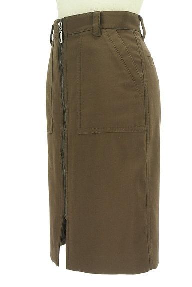 Pinky&Dianne(ピンキー&ダイアン)の古着「膝下丈前ファスナータイトスカート(スカート)」大画像3へ