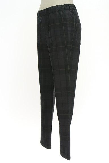 TOMORROWLAND(トゥモローランド)の古着「チェック柄スリムテーパードパンツ(パンツ)」大画像3へ