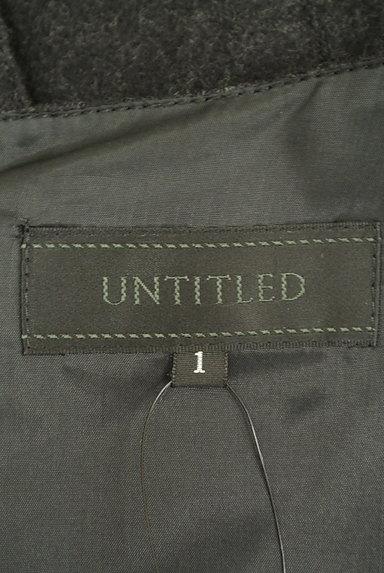 UNTITLED(アンタイトル)の古着「サテンリボンウールワンピース(ワンピース・チュニック)」大画像6へ