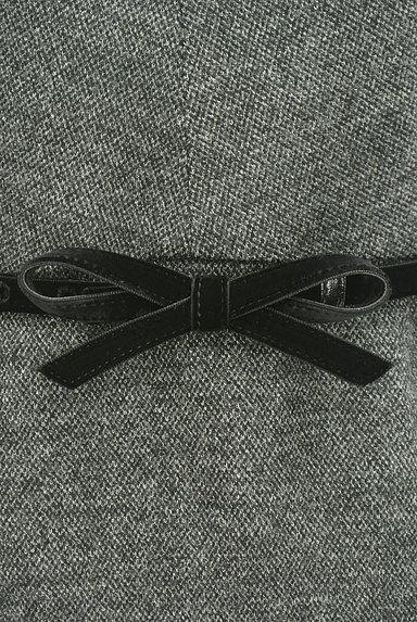STRAWBERRY-FIELDS(ストロベリーフィールズ)の古着「7分袖ウールタックワンピース(ワンピース・チュニック)」大画像4へ