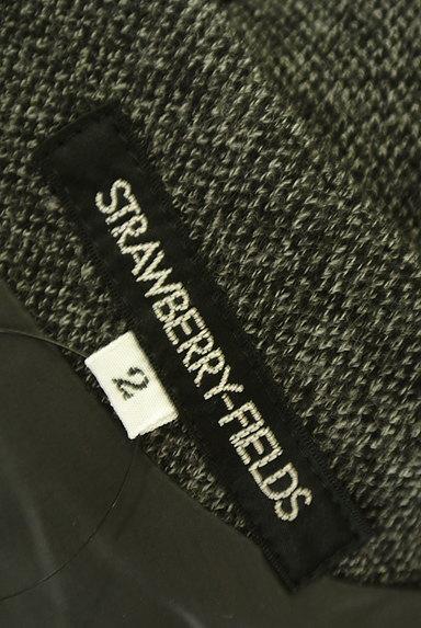 STRAWBERRY-FIELDS(ストロベリーフィールズ)の古着「7分袖ウールタックワンピース(ワンピース・チュニック)」大画像6へ