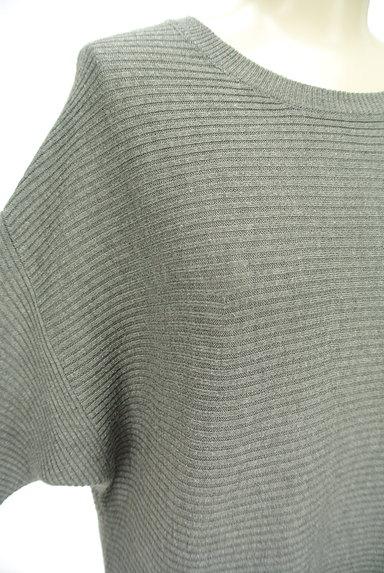 AZUL by moussy(アズールバイマウジー)の古着「8分袖ドルマンロングワンピース(ワンピース・チュニック)」大画像4へ