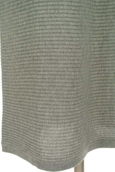 AZUL by moussy(アズールバイマウジー)の古着「8分袖ドルマンロングワンピース(ワンピース・チュニック)」大画像5へ