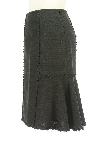 TO BE CHIC(トゥービーシック)の古着「フリンジ裾フレアラメスカート(スカート)」大画像3へ