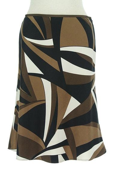 UNTITLED(アンタイトル)の古着「幾何学模様裾フレアスカート(スカート)」大画像1へ