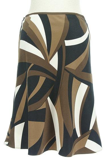 UNTITLED(アンタイトル)の古着「幾何学模様裾フレアスカート(スカート)」大画像2へ