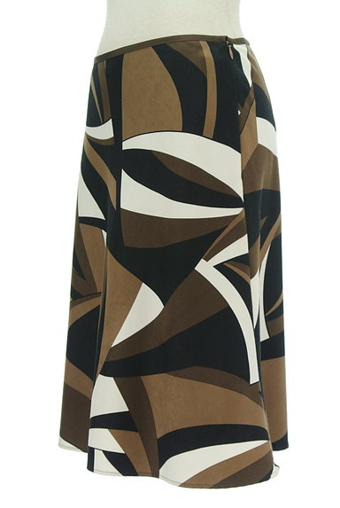 UNTITLED(アンタイトル)の古着「幾何学模様裾フレアスカート(スカート)」大画像3へ