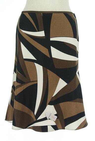 UNTITLED(アンタイトル)の古着「幾何学模様裾フレアスカート(スカート)」大画像4へ