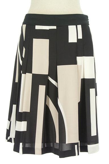 iCB(アイシービー)の古着「幾何学模様ミディ丈フレアスカート(スカート)」大画像1へ
