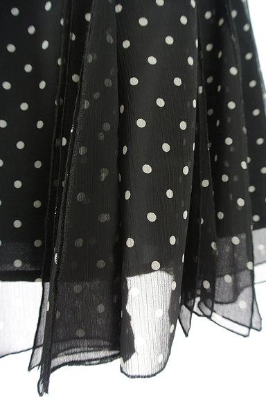 SCOT CLUB(スコットクラブ)の古着「ウエストリボンドットシフォンスカート(スカート)」大画像5へ