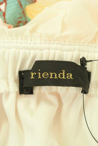 rienda(リエンダ)の古着「シフォン花柄切替ベアワンピ(キャミワンピース)」大画像6へ