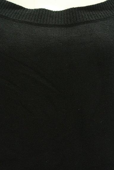 rienda(リエンダ)の古着「シンプルニットワンピース(ワンピース・チュニック)」大画像4へ
