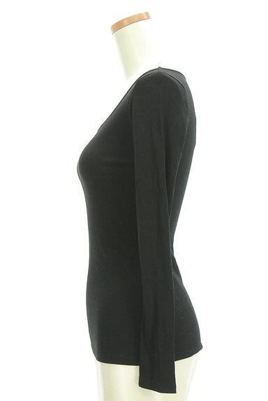 DURAS(デュラス)の古着「シンプルリブカットソー(カットソー・プルオーバー)」大画像3へ