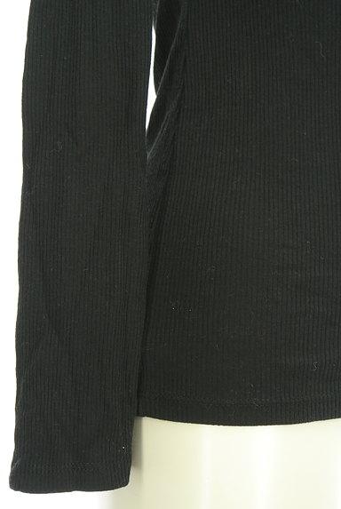 DURAS(デュラス)の古着「シンプルリブカットソー(カットソー・プルオーバー)」大画像5へ