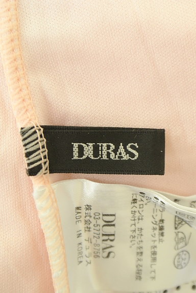 DURAS(デュラス)の古着「レース×ツイードミニワンピース(キャミワンピース)」大画像6へ