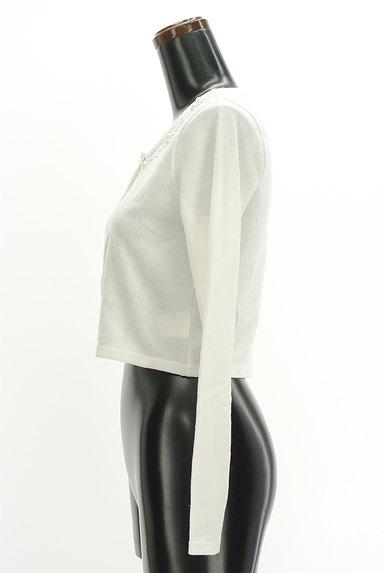 RESEXXY(リゼクシー)の古着「ビジューショートカーディガン(カーディガン・ボレロ)」大画像3へ