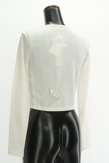 RESEXXY(リゼクシー)の古着「ビジューショートカーディガン(カーディガン・ボレロ)」大画像4へ