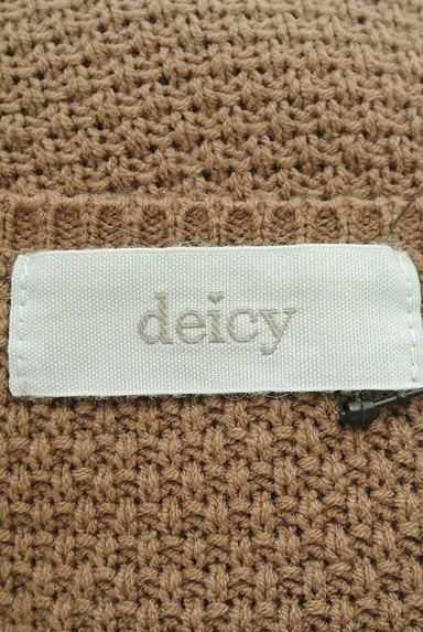 deicy(デイシー)の古着「8分袖ケーブル編みニット(ニット)」大画像6へ