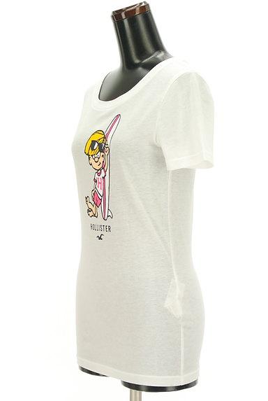 Hollister Co.(ホリスター)の古着「プリント白Tシャツ(Tシャツ)」大画像3へ