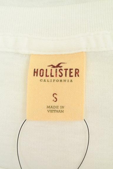 Hollister Co.(ホリスター)の古着「プリント白Tシャツ(Tシャツ)」大画像6へ