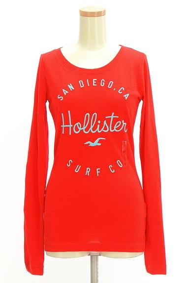 Hollister Co.(ホリスター)の古着「ロゴ刺繍ロングTシャツ(Tシャツ)」大画像1へ