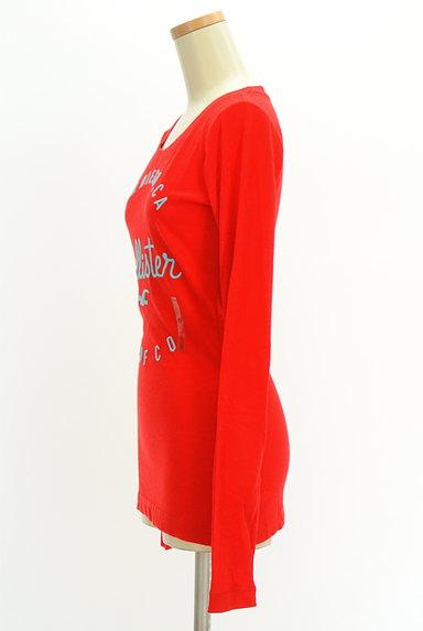 Hollister Co.(ホリスター)の古着「ロゴ刺繍ロングTシャツ(Tシャツ)」大画像3へ