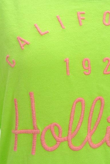 Hollister Co.(ホリスター)の古着「ロゴ刺繍ロングTシャツ(Tシャツ)」大画像4へ