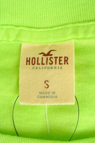Hollister Co.(ホリスター)の古着「ロゴ刺繍ロングTシャツ(Tシャツ)」大画像6へ