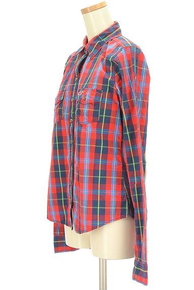 Hollister Co.(ホリスター)の古着「チェック柄カジュアルシャツ(カジュアルシャツ)」大画像3へ
