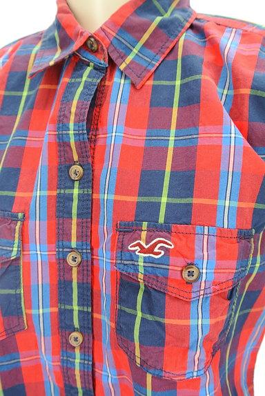 Hollister Co.(ホリスター)の古着「チェック柄カジュアルシャツ(カジュアルシャツ)」大画像4へ