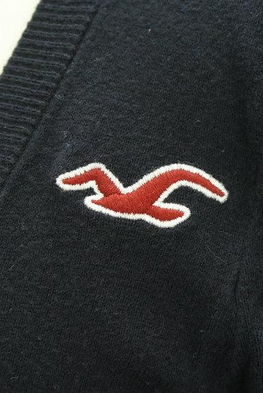 Hollister Co.(ホリスター)の古着「ワンポイントVネックカーディガン(カーディガン・ボレロ)」大画像4へ