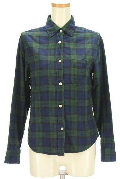 SM2(サマンサモスモス)の古着「チェック柄シャツ(カジュアルシャツ)」大画像1へ