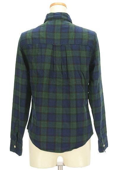 SM2(サマンサモスモス)の古着「チェック柄シャツ(カジュアルシャツ)」大画像2へ