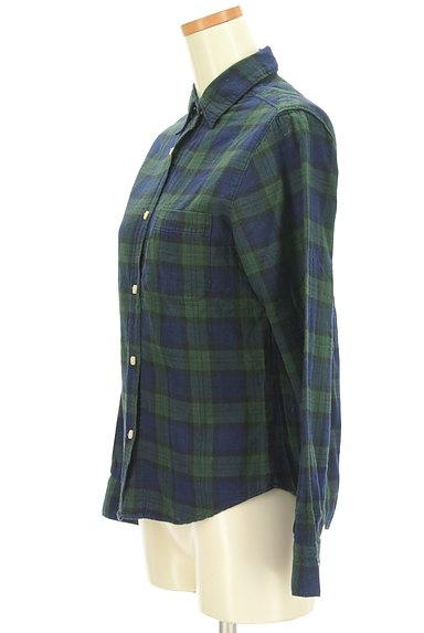SM2(サマンサモスモス)の古着「チェック柄シャツ(カジュアルシャツ)」大画像3へ