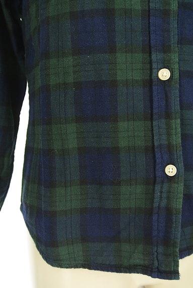 SM2(サマンサモスモス)の古着「チェック柄シャツ(カジュアルシャツ)」大画像5へ