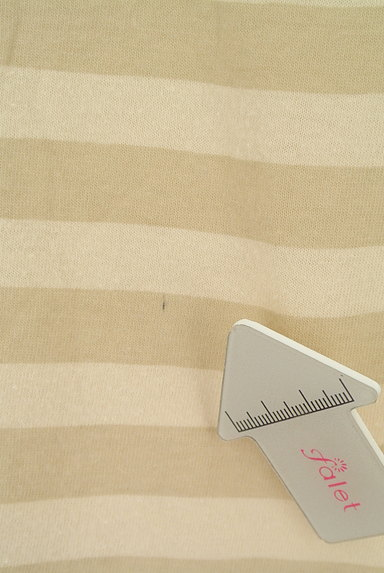 SM2(サマンサモスモス)の古着「ボートネックボーダーカットソー(カットソー・プルオーバー)」大画像5へ