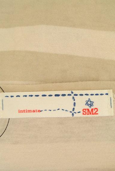 SM2(サマンサモスモス)の古着「ボートネックボーダーカットソー(カットソー・プルオーバー)」大画像6へ